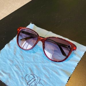 Sparkling Red Gucci Glasses gg 3633/n/s
